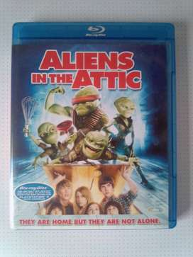 "Blu-ray DVD Movie ""Aliens in the Attic"". As well as other Movies"