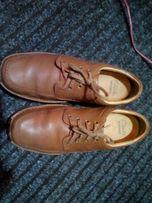 Мужские туфли clarks(Англия) оригинал 41-41,5, стелька 27-27,5 см