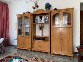 Wall unit and side unit