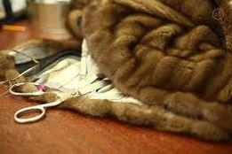 ремонт меховых изделий, кожаных изделий