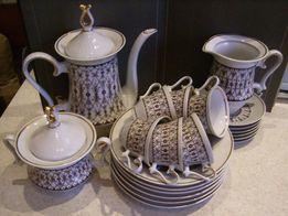 Кофейный фарфоровый сервиз Барановка