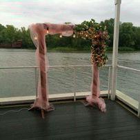 Оформление свадьбы, пока в аренду, декор стола, букет невесты