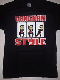 Koszulki Gangnam Style czarne, rozmiary S i M