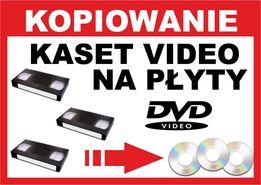 VHS na DVD, Kasety video na płyty
