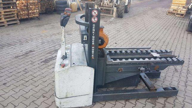Paleciak wózek elektryczny HUBTEX 12r. wyciągarka Chojnów - image 2