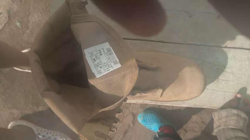Desert boots new , and one partially used 0