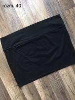 Czarna dresowa spódniczka w rozm. 40 L 2+1 GRATIS