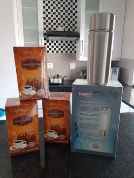 Longrich Coffee and Pi Cup