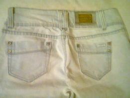 Spodnie dżinsowe bardzo jasno niebieskie /prawie białe/- Goodies.