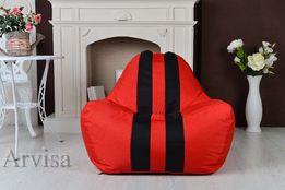 Бескаркасное кресло мешок диван Ferrari, Феррари опт розница груша пуф