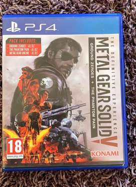 Metal Gear Solid V PS4 Game