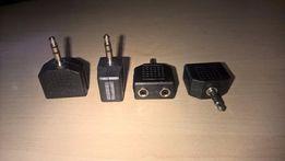 Новый Jack-Jack 3,5 мм сплиттер (двойник/соединитель/разветвитель/hub)