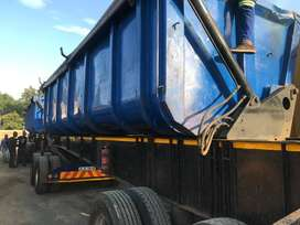 34 ton side tipper trailer