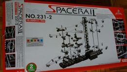 Spacerail level 2, tor dla kulek część 2 - brakuje metalowych kulek