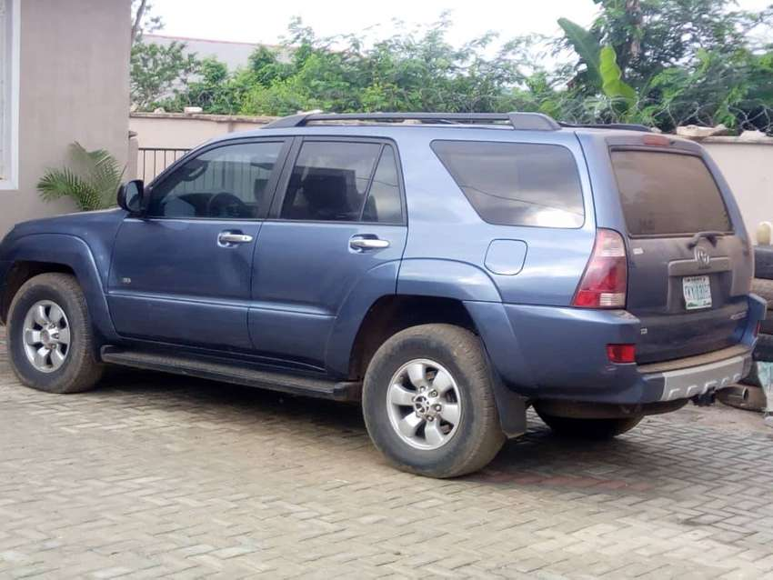 Toyota 4-Runner- Nigeria used by woman 0