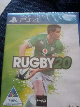 Rugby 20 PS4 Sealed