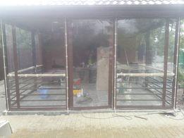 Мягкие окна Прозрачные стенки для беседки, террасы, веранды,балкон