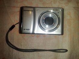 "Продам. Фотоаппарат ""OLYMPUS X-43"" + карта памяти + сумка."