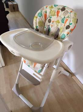 BEST Joie Mimzy Baby Feeding High Chair!