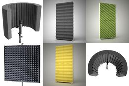 Акустические экраны для микрофона, акустический поролон, панели