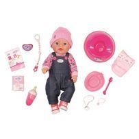 БЕСПЛ.ДОСТ. Кукла Baby born Нежные объятия Джинсовый стиль Zapf 826157