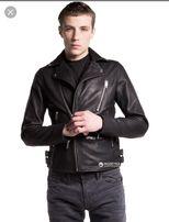 Кожаная куртка Diesel L-Gibson-1 Giacca 00SIYP/0IAIV S Черная (8059966