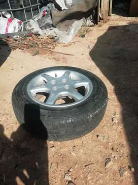 Golf 1 14inch mags with 80%life continental tyres