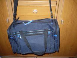 Granatowa torba sprtowa