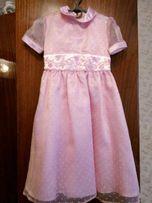 Нарядный костюм платье+болеро на девочку 116 р 4, 5, 6 лет