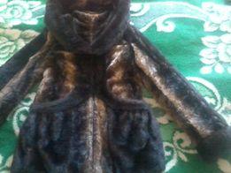 Зимний полушубок 44 размера,шуба,пальто