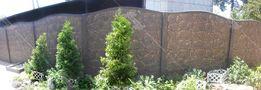 Еврозабор, Забор бетонный секционный