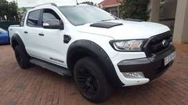 2016 FORD RANGER WILDTRACK 4X4 AUTOMATIC DOUBLE CAB 99000KM IN PERFECT
