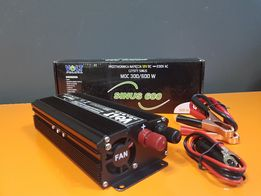 Przetwornica SINUS 600 12V / 230V 300/600W (3038)