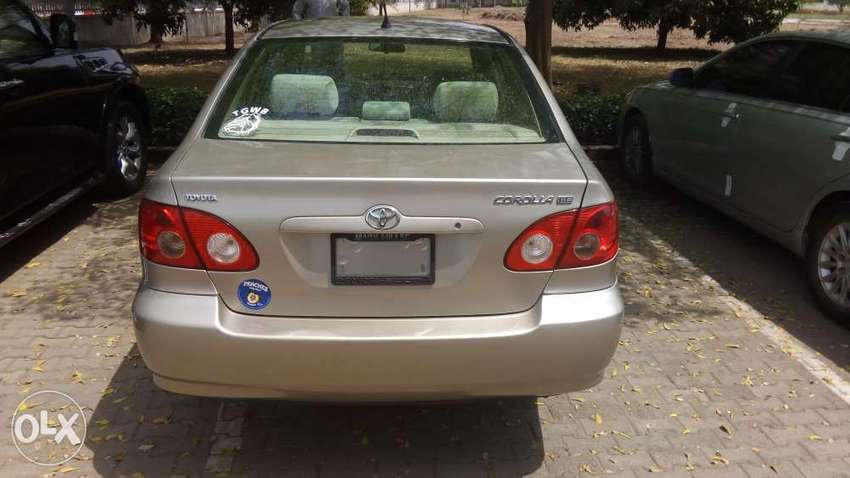 Foreign used 2007 Toyota corolla. 0