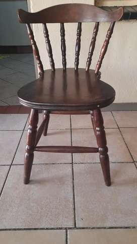 5 x Antique dining room chairs for sale
