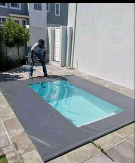 Pool Covers, Safe for Pets and Children