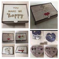 Подарок на 14 февраля,день святого Валентина, рамки,коробки,валентинки
