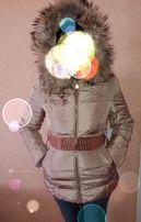 Пуховик (на пуху), куртка зимняя Турция