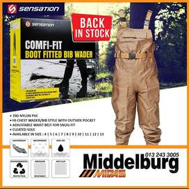 Comfi-Fit Boot Fitted Bib Wader!