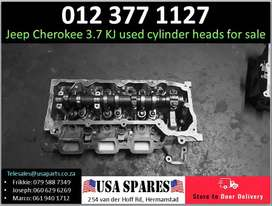 Jeep Cherokee 3.7 KJ 2002-07 used cylinder heads for sale