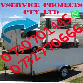 Food Trailers Mobile kitchens