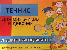 Теннис для взрослых и детей. Кропивницкий.
