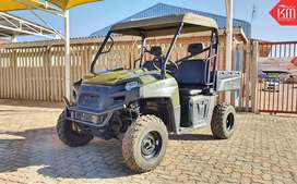 Superbly Maintained 2017 Polaris Ranger 570 SxS with Trailer