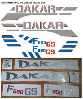 2004 BMW F650 GS decals stickers graphics kits