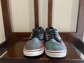 Galaxy Vans Shoes (Size UK7.5) in Good Condition