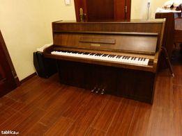 pianino legnica ciemny brąz idealne