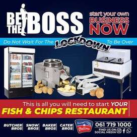 FISH & CHIPS STARTUP COMBO