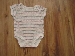 Body niemowlęce, krótki rękaw, rozmiar 62