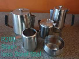 Stanless Steel Tea/Coffee Set
