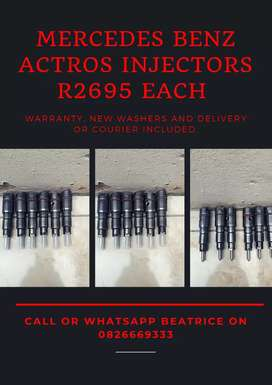Mercedes Benz Actros diesel Injectors available